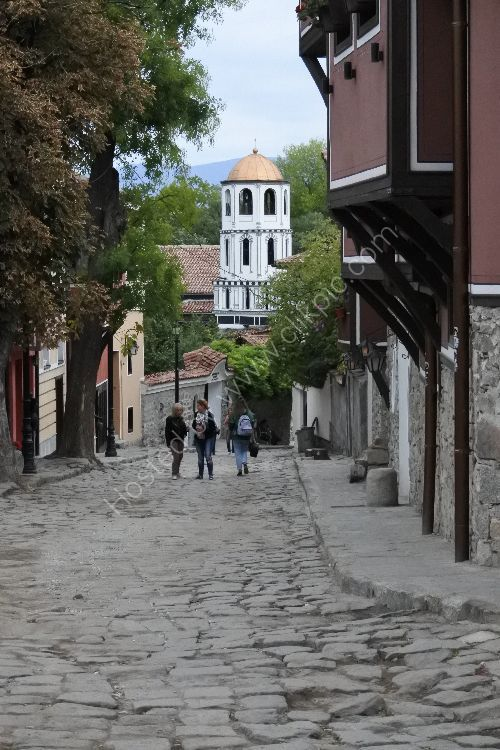 Plovdiv in bulgaria