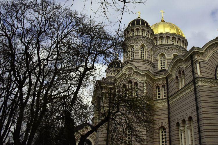Riga, Latvia in April