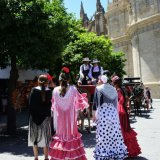 The Ferria in Seville