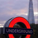 Tower Hill tube and The Shard
