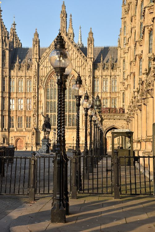Westminster in January