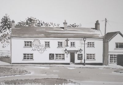 The Sun and Anchor Pub', Scotter Village