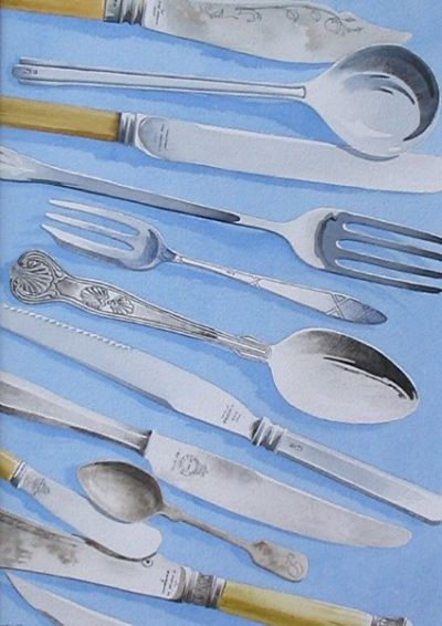Still Life With Silver