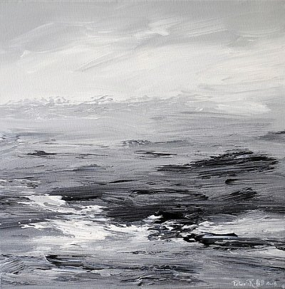 Breakers On A Grey Shore