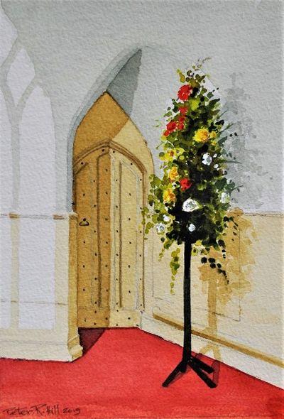 Doorway Inside St Peter's