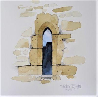 Window At St Genewys, Scotton