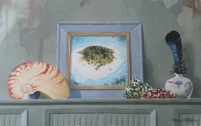 Still Life With A Coral Atoll