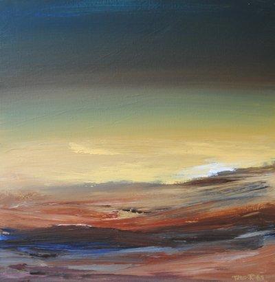 Nightfall Over Desert