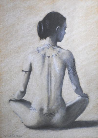 Girl With a Tattooed Back SOLD