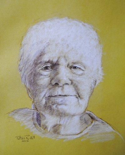 Barbara Hill  (My Mum)