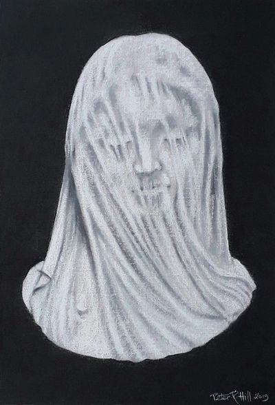 Based on 'The Veiled Virgin' by Giovanni Strazzi