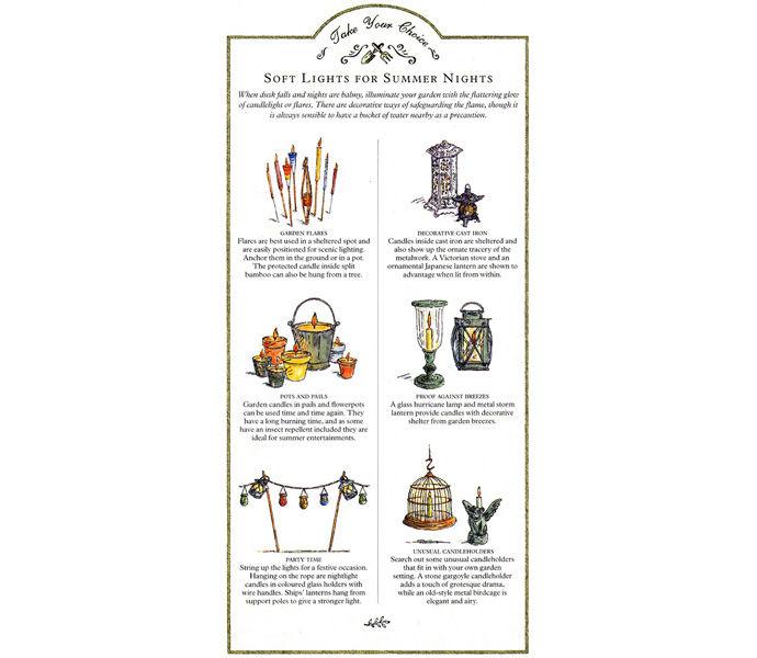 'Good Ideas for your Garden' Reader's Digest - lights