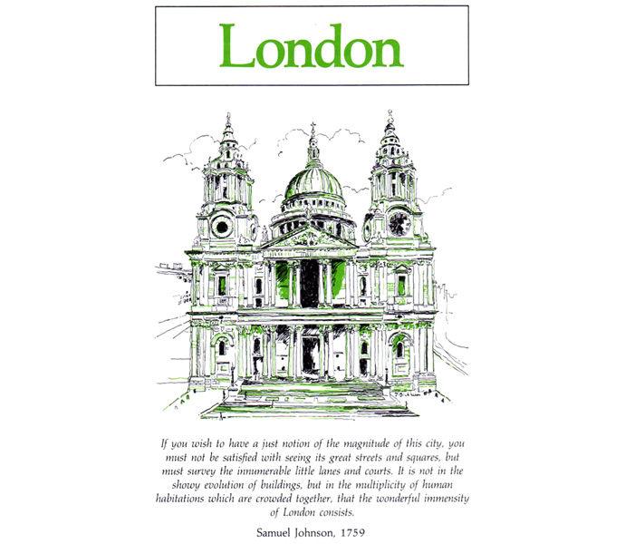 'Weekend Cities' George Philip & Son - London