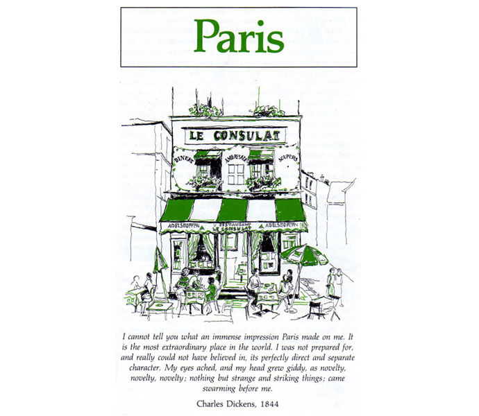 'Weekend Cities' George Philip & Son - Paris