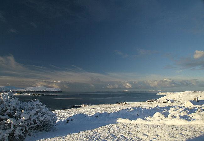 Snowscene from Hallin Park