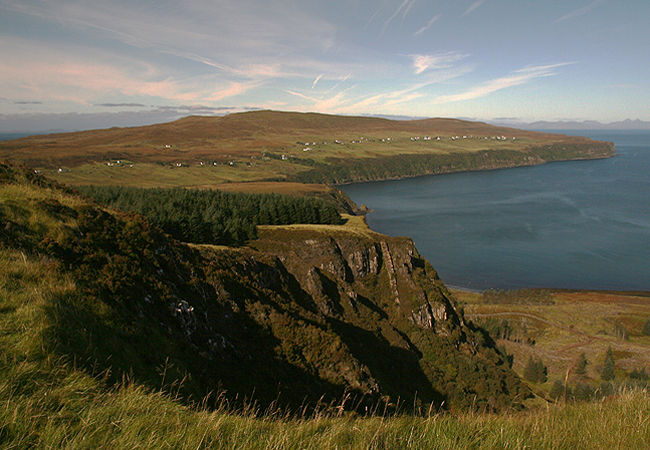 North east Waternish, Gillen and Geary from the clifftop walk at Scorr Bay