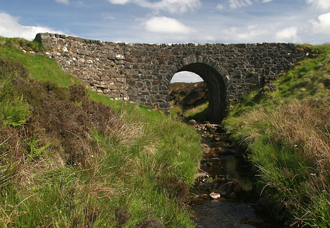 First, a look round Waternish starting at The Fairy Bridge. Legend has it that if you first enter Waternish over the Fairy Bridge, then your heart will forever belong to Waternish