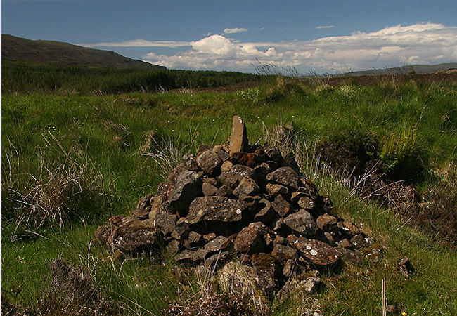 The Boy's Cairn or Cat Cairn, which has its own supernatural legend