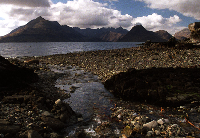 .....on to the shore at Elgol and one of the classic views of the Cuillins