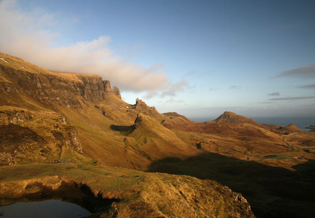 ...carrying on north up Totternish to the Quiraing