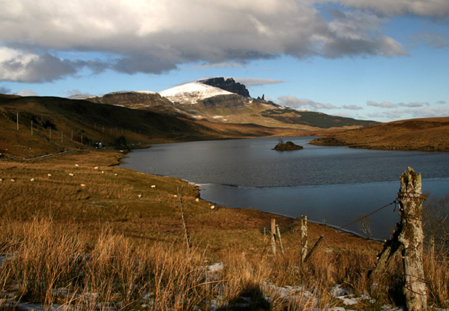 Then south to The Old Man of Storr