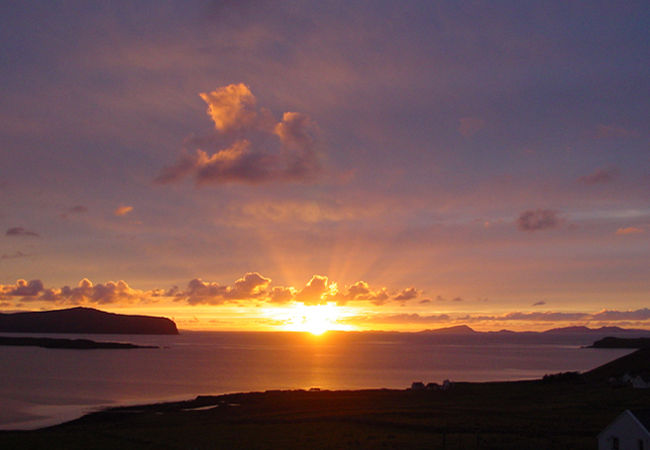 .........but the sunsets are good wherever you are on Waternish............
