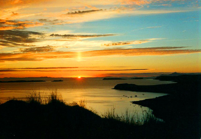 Waternish is famed for its sunsets....this is the classic view from Allt a Chaim