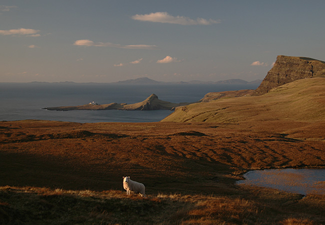 Skye's western most spot, Neist Point , the lighthouse and Waterstein Head