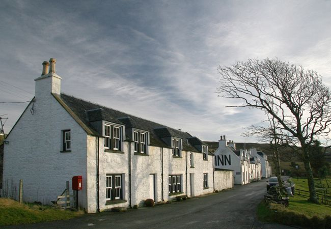 A walk down the village, starting at West House with the inn beyond