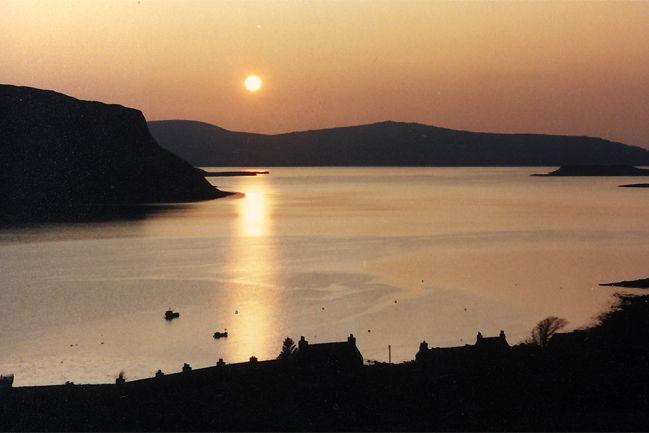Stein sunset