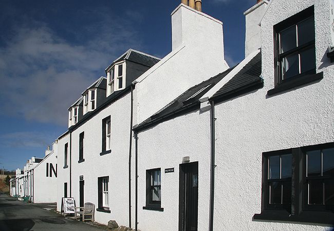 The Captains house and Isay Cottage