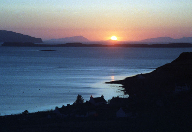 Waternish sunset