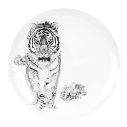 'Bang!', Siberian Tiger Limited Edition Fine English China Coupe Plate