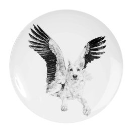 'Sweet', Wolves Limited Edition Fine English China Coupe Plate
