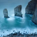 Pembrokeshire sea stacks