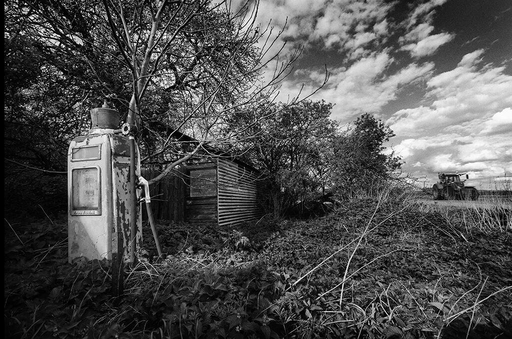The old diesel pump