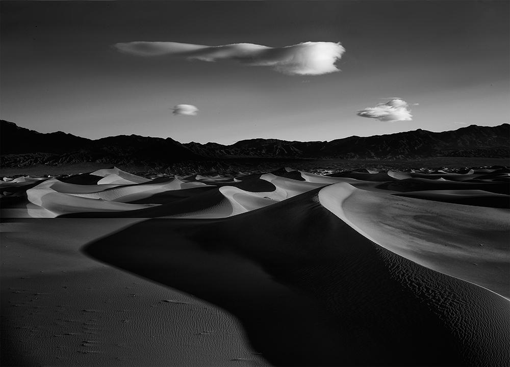 The Mesquite dunes
