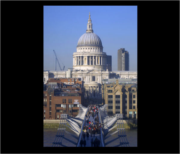 ST PAULS AND MILLENIUM BRIDGE