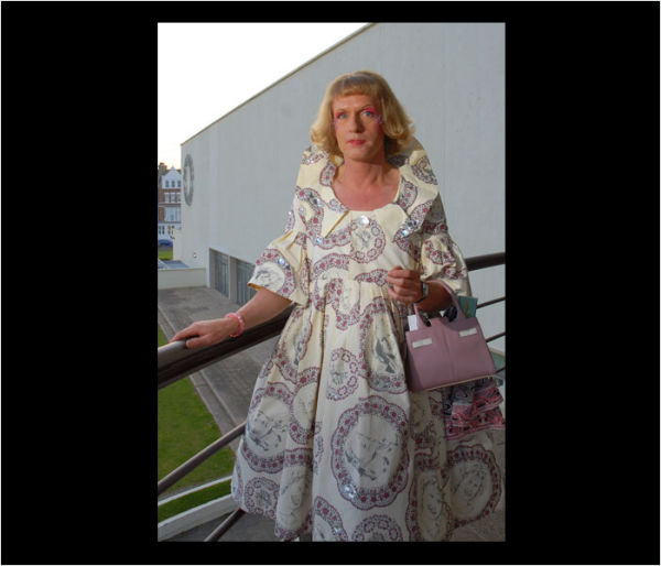 GRAYSON PERRY PHOTOGRAPHED AT THE DEL LA WARR PAVILLION BEXHILL
