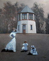 Pepperpot with Lady & Children