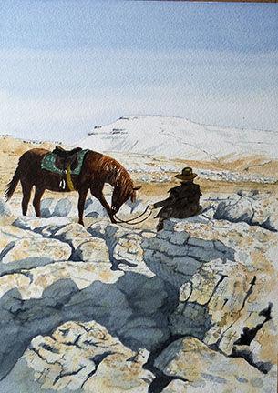 Inca on Lead Mines Moss (SOLD)