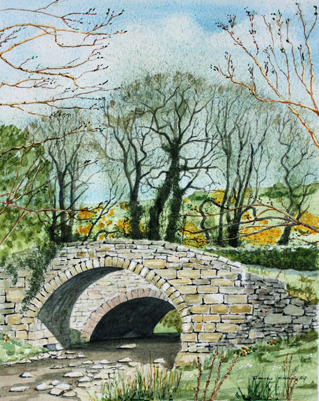 Pack Horse Bridge near Barnard Castle