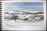 Snow Scene south of Sedbergh