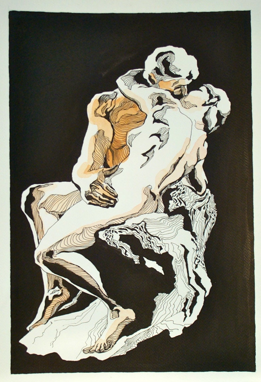 """The Kiss"" by Rodin"