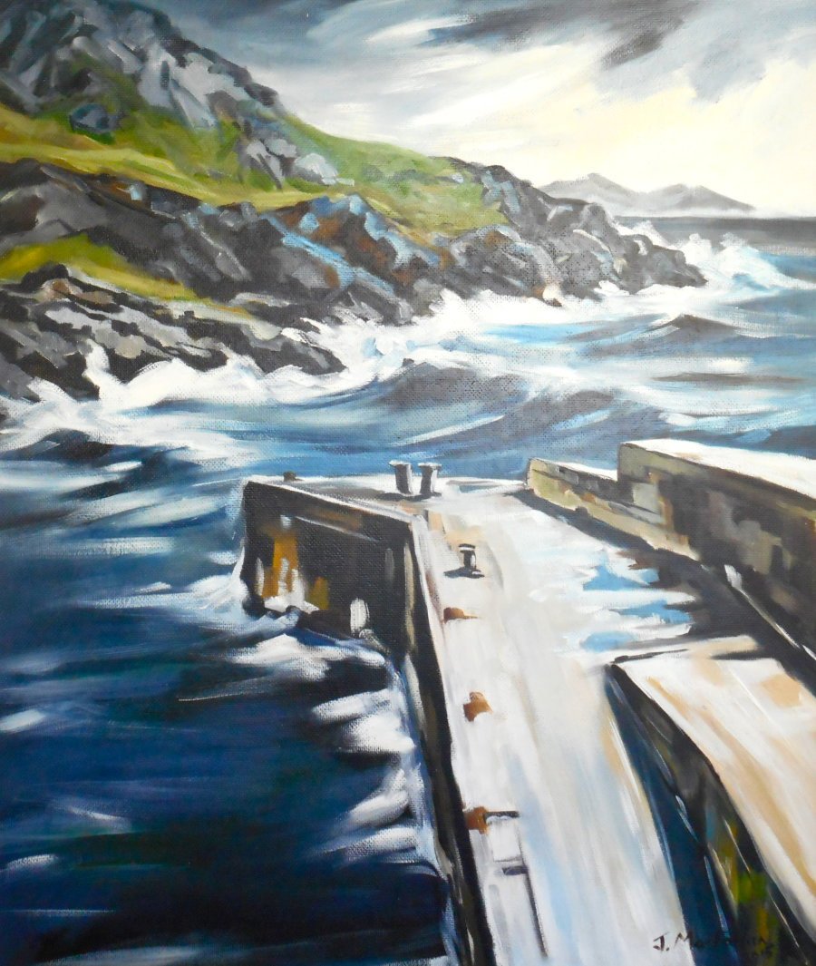 Harbour at Torr Head