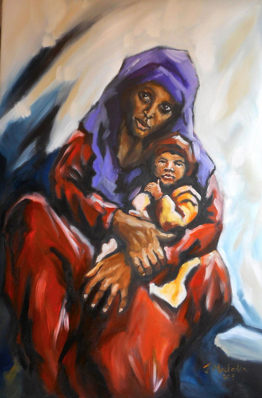 Yemeni Mother and Child
