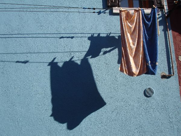 Washing line, Burano