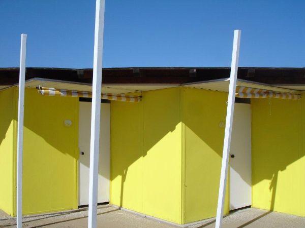 Beach huts, Lido