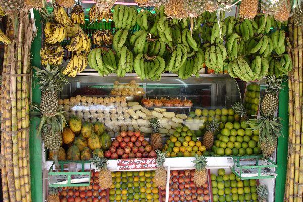 Fruit stand, Kathmandu