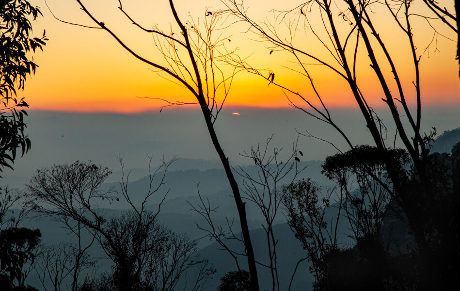 4782 Megalong valley sunset